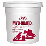 A supplemental source of vitamins and minerals specially formulated for performance horses. Myo-guard contains a unique blend of antioxidants including natural vitamin e, selenium, and vitamin c. Myo-guard will help horses recover from work sooner and ret