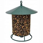 Feeder to display classic feed logs. Classic design that is sturdy and some types of birds just love to peck at the log you insert. Great way to feed birds and an excellent feeder choice.