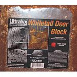 This Block Is Formulated To Provide Supplemental Protein, Energy, Minerals And Vitamins To Deer In Nature.