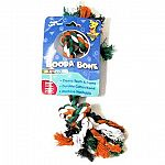 A natural cotton tug toy. Safer and more fun than rawhide. Machine washable. The original Booda rope chew that dogs love! 100% cotton that cleans teeth and exercises gums while they play.