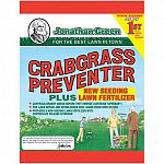 Prevents crabgrass and grassy weeds from germinating, and allows your to seed on the same day without injuring seedlings. 20 percent controlled release nitrogen feeds new seedlings gently and longer. Can also be used under new sod lawn installations.