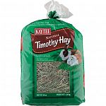 Kaytee Timothy Hay for Rabbits is a natural product with no preservatives or additives, and because timothy hay is lower in calcium, it may decrease the likelihood of urinary tract problems.