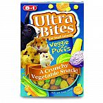 Ultra Bites Vegetable puff treats provides a low calorie, fun crunchy snack anytime. Small grab-able shape for interactive treat fun. Small grab-able shape for interactive treat fun