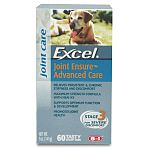 Excel Joint Ensure Advanced Care Stage 3 is formulated for moderate to advanced cases of joint problems and contains four important active ingredients for helping to maintain healthy joints. Dosage by size.  Glucosamine HCL / Chondroitin Sulfate