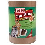 Safe-to-chew tubes with timothy hay, a wholesome foraging treat that adds fun and variety. With carrots for extra vitamins.