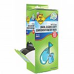 Refill bags for bags on board dispensers makes clean up quick and easy. Bags are biodegradable strong durable leak proof with ties included for easy disposal. Refill bags for bags on board dispensers pop off lid of dispenser and insert new cartridge. Repl