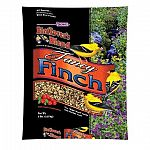 Bird Lovers Fancy Finch Bird Food by F.M. Browns is a delicious blend of premium seeds and berries that finches love to eat. Made with no fillers and contains high-energy fat and oil. Contains calcium, potassium and fiber. Size is 5 lbs.