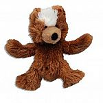 Cuddly teddy dog toy with a squeaker and a lot of love. Your small to medium dog will love this snuggly toy. 12.0