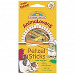 Crunchy oven baked treats ideal for all small animals. Contains real garden vegetables.