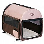 Let your pet feel right at home no matter where you travel with the Petmate Portable Pet Home. Easy to carry and easy to set-up, this essential traveling companion keeps you and your furry friend happy wherever you end up