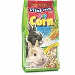 Rabbit treat that rabbits of all ages love. Consists of crunchy dried popped corn. This is only a treat and should not be used for daily nutrition.