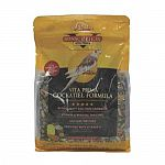 Quiko egg food crumbles and spirulia meet high energy and protein needs of the cockatiel. Addition of nutrient rich fortified vita bite pellets adds vitamins and minerals not normally found in a straigh seed diet. Promotes colorful feather growth and ensu