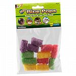 Rice Pops (Small) are a wholesome combination combination of crunchy chews and flavorful fun, made from a tasty rice and corn. Ideal for hand place on the Ware Treat-K-Bob, Rice Pops are a for rabbits, guinea pigs, chinchillas and pet rats