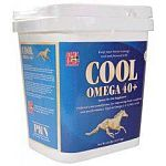 Start to Finish Cool Omega 40+ is a unique blend of fat and all natural proteins for today's active horses. These calories are designed to meet the requirements of peak performance horses, keeping them on the cutting edge.