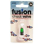 Install this check valve in your aquarium to help prevent back flow when using a variety of accessories. Package contains one check valve.