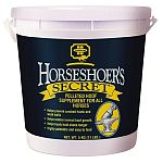 Developed to provide optimum nutrition for strong healthy hooves. Contains only the purest and most digestible ingredients, including biotin, lysine, methionine, fat, fiber, calcium, phosphorus, copper, zinc and protein.