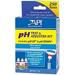 Permits user to test pH of aquarium water or tap water and then to adjust pH up or down.Test Kit tests pH levels from 6 0 to 7.6 Includes 37 ml pH UP and pH DOWN.