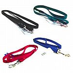 3/4 inch wide (XStrong) nylon dog lead with swivel snap. Made from premium quality nylon. One end has a stitched hand loop and the opposite end has an extra-heavy snap for added strength. Multiple lengths and colors.