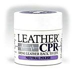 Polishes leather in one easy step. Covers scuffs and scratches, provides a lustrous shine without buffing, dries instantly. Place item to be treated on drop cloth or rag. Rub boot polish on item buff with soft cloth once product is dry.