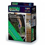 Helps change water in aquariums. Removes harmful debris from gravel.