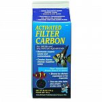 Economical filter carbon, removes colors, odors, and poisonous waste from fresh or saltwater aquariums. Phosphate free. Will not affect ph. For both freshwater and saltwater aquariums.