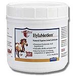Hylamotion Powder is an equine joint lubricant that helps support horse joints and keep them healthy and good shape. Easy to administer, use 1/2 oz. daily or as prescribed by your horse's vetrinarian. Contains 100 mgs of high quality hyaluronic acid.
