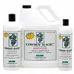 COWBOY MAGIC® Rosewater Shampoo for horses with Silk Conditioners is easy to use and is formulated to gently dissolve dirt and clean hair. The fast working ingredients break down dirt and unwanted matter quickly without damaging hair