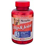 Hip and Joint Veterinary Strength gives your dog a potent blend of glucosamine plus MSM, chondroitin and hyaluronic acid. Designed to improve your dog's joint function. Available in 90 and 150 count.