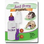 This kit is for nursing kittens, puppies and other small animals. It is best to use with Just Born Milk Replacers. Comes with 3 heat-resistant nipples, 1 bottle and a bottle brush, all can be sterilized in boiling water.