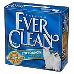 Extra strength, stronger clumps. Especially for people with multiple cats. Simply scoop out clumps and flush. Litter stays clean and never needs changing. (14 lbs).
