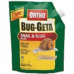 Kills snails and slugs. Can be used around fruits and vegetables, flowers and ornamentals. Remains effective even after rain or watering. Broadcast or sprinkle product evenly over infested areas. Application should be made following an irrigation for bes