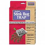 Attracts and captures all stinkbug species. Can be used indoors or outdoors. Long lasting dual action bait- lasts up to 4 weeks. Protects your home and garden against these pesky insects. Contains 3 disposable traps. Non-toxic and odorless.