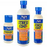 Aquarium Pharmaceuticals Stress Coat can be used with freshwater tropical fish, marine fish, invertebrates and coldwater species including koi and goldfish. Stress Coat will not harm aquatic plants.