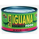 Contains ingredients such as apples and carrots, with a natural flavoring agent and bright color to entice iguanas to feed. Choose from adult formula and juvenile forumula with extra protein.