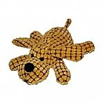 A deliciously fun dog toy that can flop and flap whereever your dog wants to carry him. Waffle wags are textured for extra interest. 14 inch