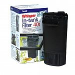 For the ultimate in convenience and quiet, choose a Whisper In-Tank Filter.These filters mount on the inside of the aquarium.