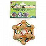 A new twist to the nutty ball toy and chew toy by Ware for small animals.  Rabbits, guinea pigs, and chinchillas cannot resist this chew toy. Multi-color connectors keep the balls together while your pet rolls and chews.