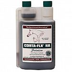 Clinically proven, recommended by leading veterinarians. These HA molecules are many times smaller than traditionally sourced HA as used by some competitors. CORTA-FLX clinically proven formula Plus HA getsfaster results.