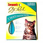 For elimination of fleas ticks and flea eggs and larvae on cats and kittens under 5 pounds.