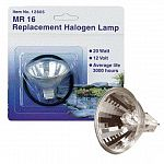 Pondmaster Replacement Halogen Lamp, 20 watt. Average Life - 3000 hours. Works with the Pondmaster Submersible Halogen Pond Light.