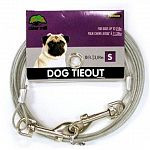 Cider Mill Puppy Tieouts are the finest, safest tieouts made today. Made of galvanized steel aircraft cable, these cables are stronger than most link chains.
