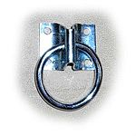 Zinc chromate. Plate Style 24H Hitching Ring in a case of 10. 2 inch.