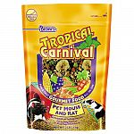 Food and treat all-in-one. A special mix that mice and rats love to eat like fruits, nuts, veggies, seeds, grains. Vitamin and nutrient fortified. Essential beneficial bacteria added to aid in digestion. For all life stages. Reseal able pouch.