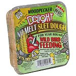 Delights are mixed into soft dough texture and pressed into cake form which creates the only true no melt suet. Treats and delights are also nutritionally balanced to provide woodpeckers with much needed energy.