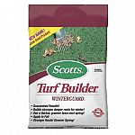 Scotts Lawn Pro Super Turf Builder With Winterguard helps to prepare lawns for winter by promoting stronger root development, thicker and greener lawn in fall, and quicker green-up in spring. High nutrient analysis with sustained release of nitrogen.