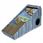 Cosmic catnip scratchers provide cats with a scratching surface they can t resist. Scratchers are reversible for double the scatching life. Cats appreciate the tight nooks and crannies in the corrugated cardboard that helps them groom their claws.