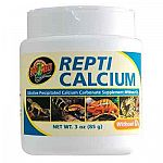 Repti Calcium without D3 is made of a very fine Precipitated Calcium Carbonate that is a great source of calcium carbonate. This essential reptile and amphibian supplement contains no phosphorus. The unique shape increases calcium bioavailability.