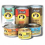 TRIUMPH CANNED CAT FOOD is formulated to meet your cat's dietary needs with premium quality protein, magnesium controlled and carefully balanced calcium, phosphorous and taurine levels
