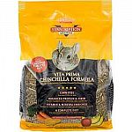 Give your pet chinchilla this nutritious and delicious fortified diet by Sun Seed. Made of high protein and high fiber protein pellets for healthy pet chinchillas. Fortified with vitamins and minerals that made this formula a complete diet.