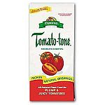 Tomato-Tone by Espoma is a complex blend of natural ingredients that provides all major, minor, and trace nutrients your tomatoes require. Because the nutrients in Tomato-Tone release slowly, it is very safe to use. Sold in a case of 12 (each 4 lbs.).
